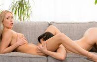 Asian girl in hot lesbian action – Angelika Grays, London Keyes