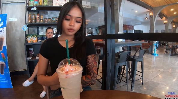 ThaiSwinger - Miw - Internet Cafe Fuck Porn Videos