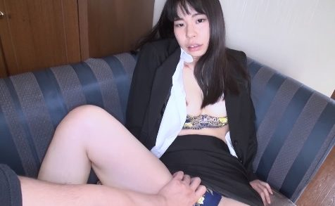 Female secretary works overtime with the director