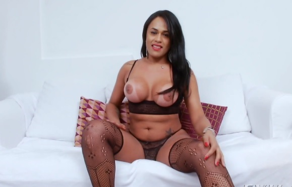 Indonesian shemale tanned skin - free Indonesian shemale porn video