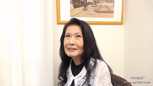 60 year old Japanese woman for the first time in porn