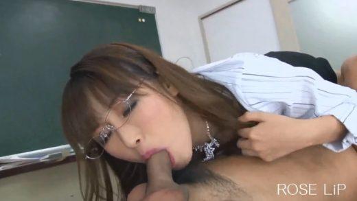 Having sex with a bad Japanese female teacher