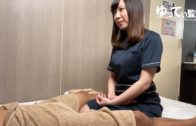 Japanese girl likes handjob, nice breasts E cup