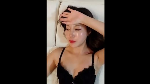 Korean young girl Works Herself Out