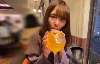 Slim Japanese girl's secret meeting
