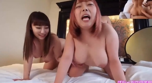 The adult movie of two big boobs Japanese girls starring celebrity fans