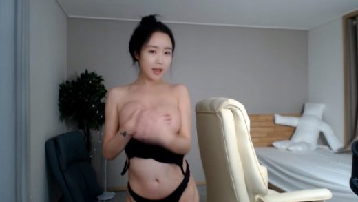 a good time of Young Korean girl