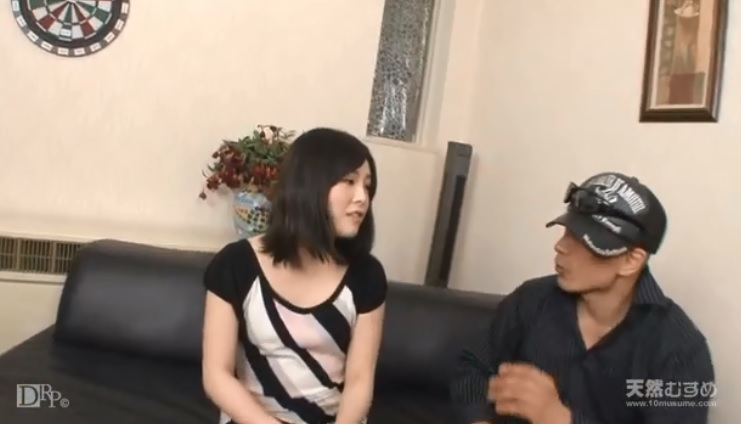 Play With Japanese small tits girl