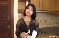Big-Breasted Thai Maid Pounded and Impregnated
