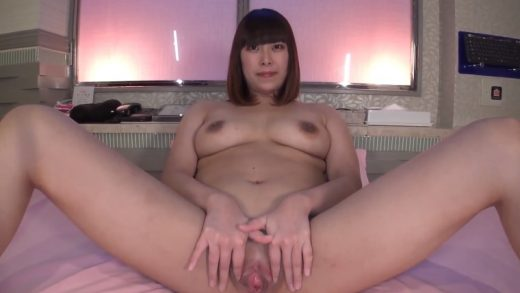 Insert the cock into the pussy of this beautiful Japan girl with G-cup breasts