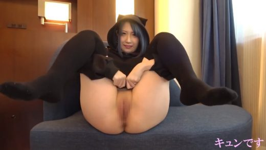 Cute 18 year old Japanese girl with nice breasts