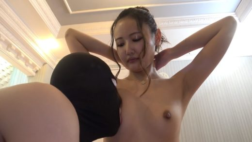 Japanese girl Is Covered In Cum