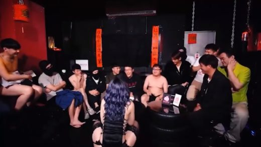 Spring Festival at a Chinese porn company