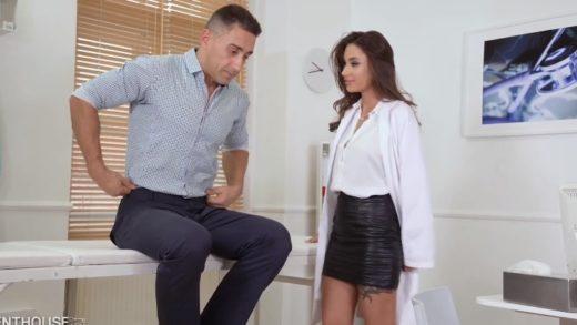 Lush Temptation of Russian Female Doctor