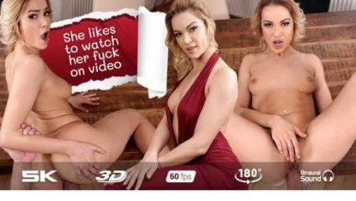 Sexy Serbia brunette lesbian video diary