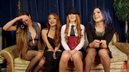 US Shemale Gangbang Porn Video
