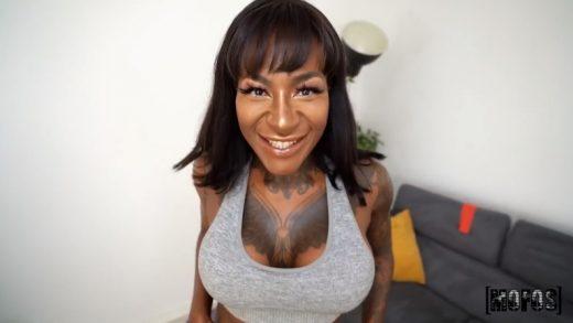 Black Big Boobs Porn Video