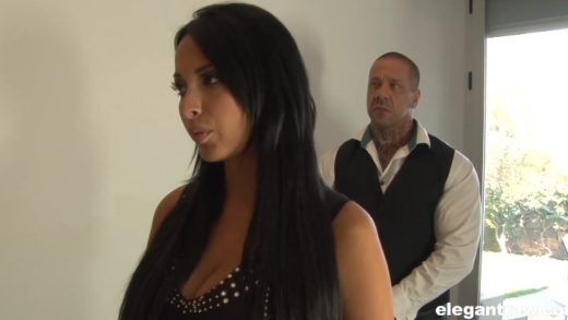 Anissa Kate - French Hairy pussy gets fucked by dildo