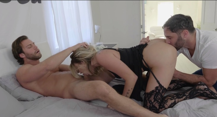 Adria Rae - US Teen Anal Casting and Threesome