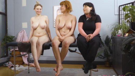Kit Farrin, Luci Q - real life lesbian porn